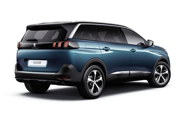 Peugeot 5008 SUV 1.2 PureTech 130PS GT 5Dr Manual [Start Stop] back view