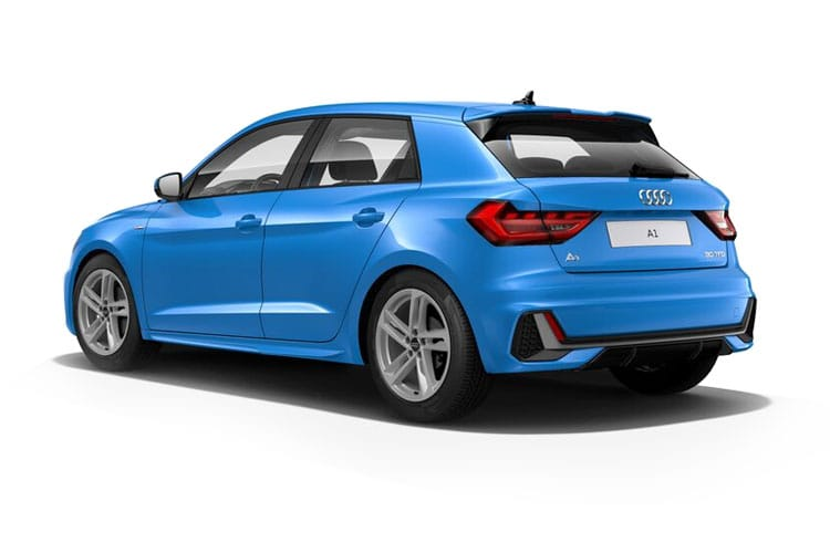 Audi A1 25 Sportback 5Dr 1.0 TFSI 95PS Technik 5Dr Manual [Start Stop] back view