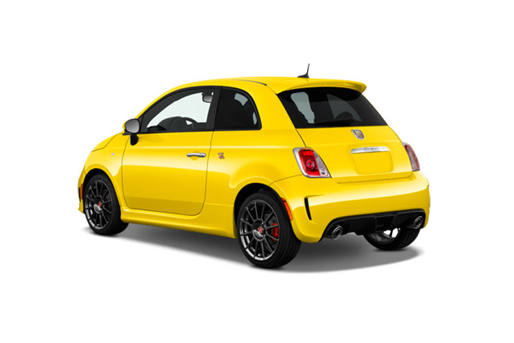 Abarth 595 Hatch 3Dr 1.4 T-Jet 165PS Turismo 3Dr Auto back view