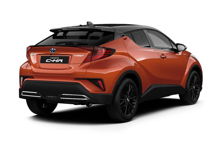Toyota C-HR 5Dr 1.8 VVT-h 122PS Icon 5Dr CVT [Start Stop] back view