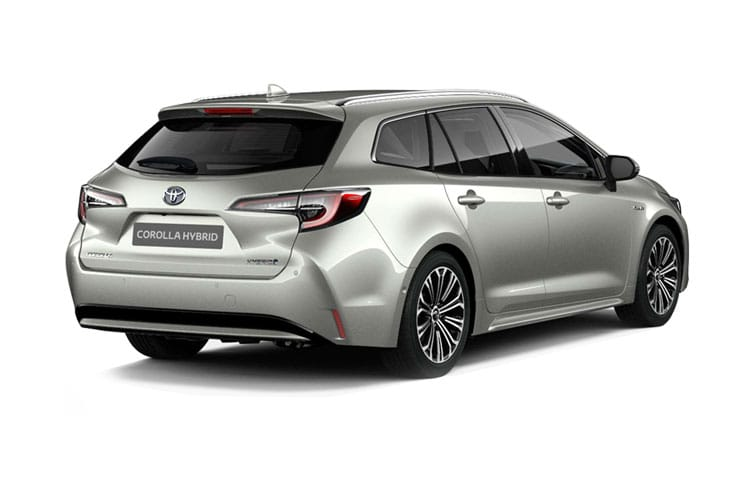 Toyota Corolla Touring Sports 2.0 VVT-h 184PS Icon 5Dr CVT [Start Stop] back view