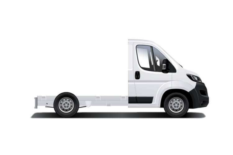 Peugeot Boxer 335 L3 2.2 BlueHDi FWD 165PS Built for Business Plus Dropside Manual [Start Stop] back view