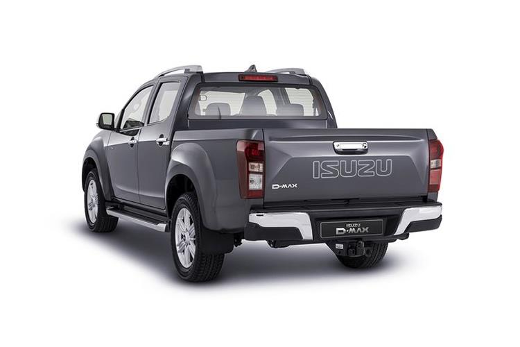 Isuzu D-MAX Pick Up Extended 4wd 1.9 TD 4WD 164PS DL20 Pickup Double Cab 2Dr Manual [Start Stop] back view