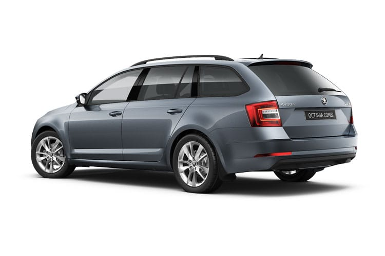 Skoda Octavia Estate 1.5 TSi ACT 150PS SE Technology 5Dr Manual [Start Stop] back view