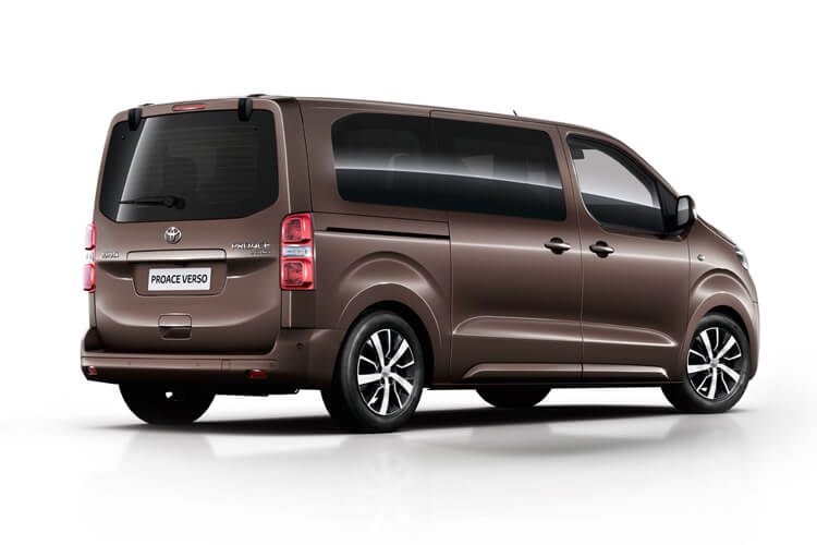 Toyota PROACE Verso Long 2.0 D FWD 150PS Shuttle MPV Manual [Start Stop] [9Seat Safety Sense] back view