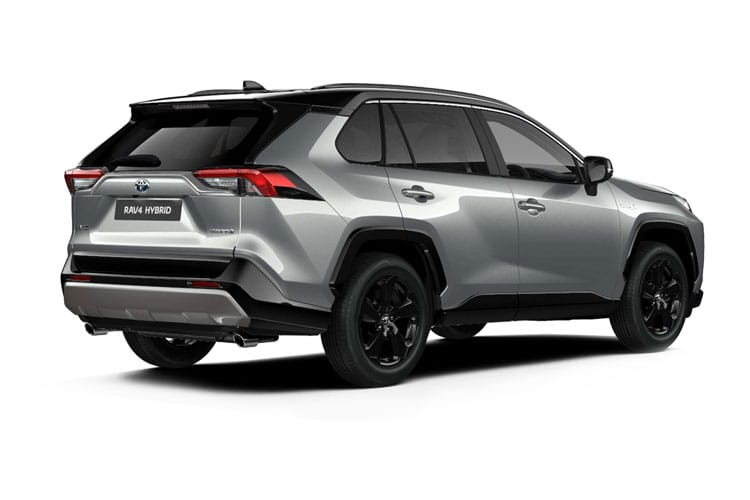Toyota RAV4 SUV 2wd 2.5 VVT-h 218PS Dynamic 5Dr CVT [Start Stop] [JBL PVM] back view