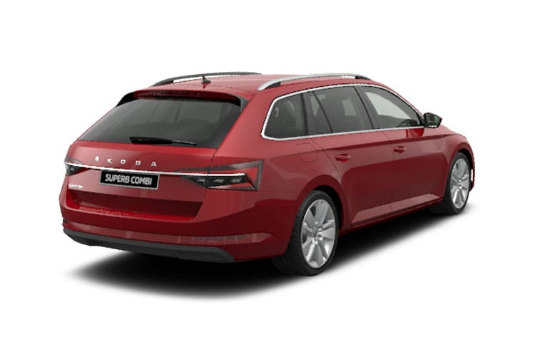 Skoda Superb Estate 1.4 TSI iV PiH 13kWh 218PS Laurin & Klement 5Dr DSG [Start Stop] back view