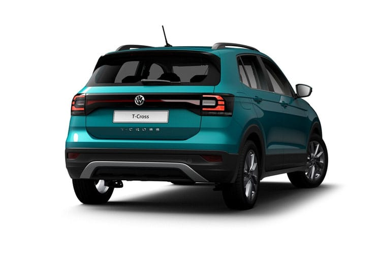 Volkswagen T-Cross SUV 1.0 TSI 110PS SEL 5Dr Manual [Start Stop] back view