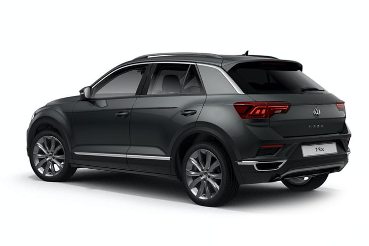 Volkswagen T-Roc SUV 2wd 1.0 TSI 110PS SE 5Dr Manual [Start Stop] back view