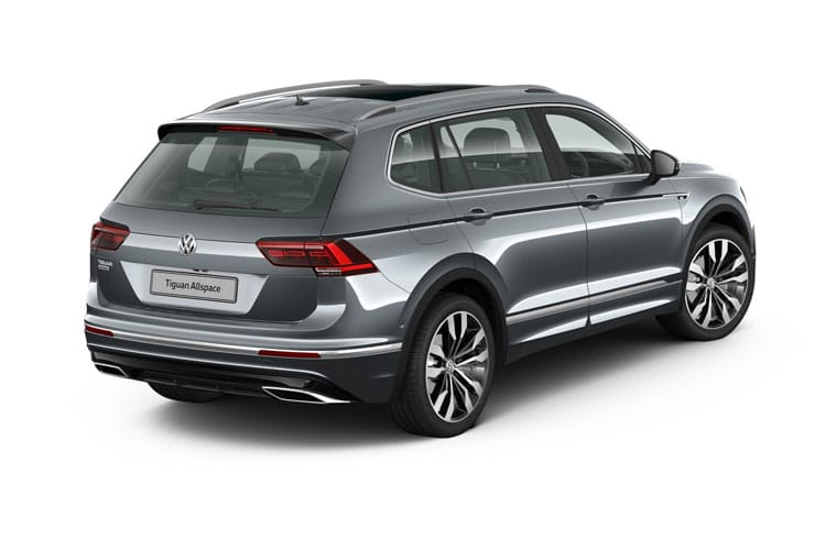Volkswagen Tiguan Allspace SUV 1.5 TSI EVO 150PS Match 5Dr DSG [Start Stop] back view