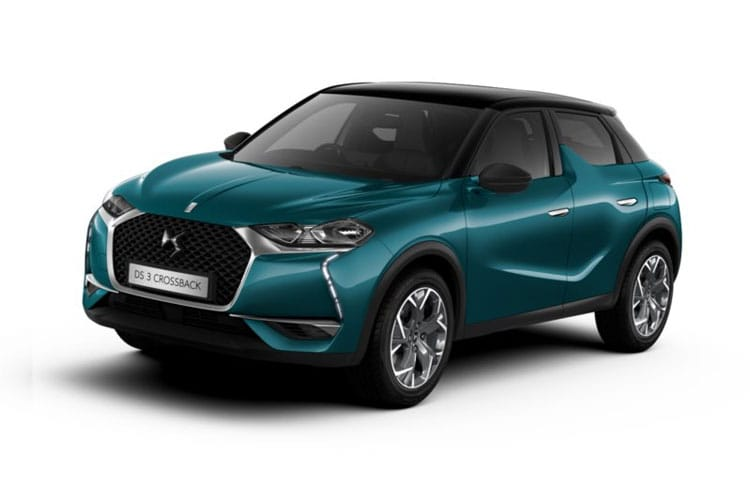 DS Automobiles DS 3 Crossback 5Dr 1.2 PureTech 100PS Performance Line 5Dr Manual [Start Stop] front view