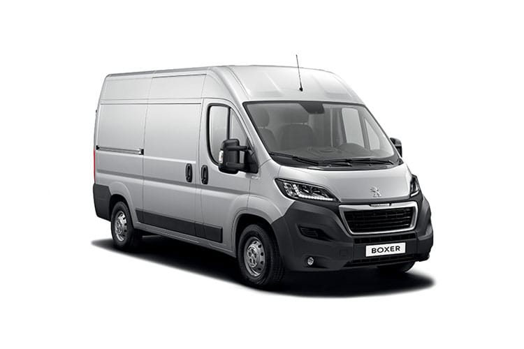 Peugeot Boxer 333 L1 2.2 BlueHDi FWD 120PS S Van Manual [Start Stop] front view
