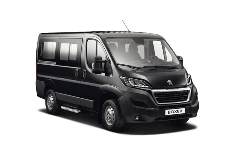 Peugeot Boxer 335 L3 2.2 BlueHDi FWD 140PS S Window Van High Roof Manual [Start Stop] front view