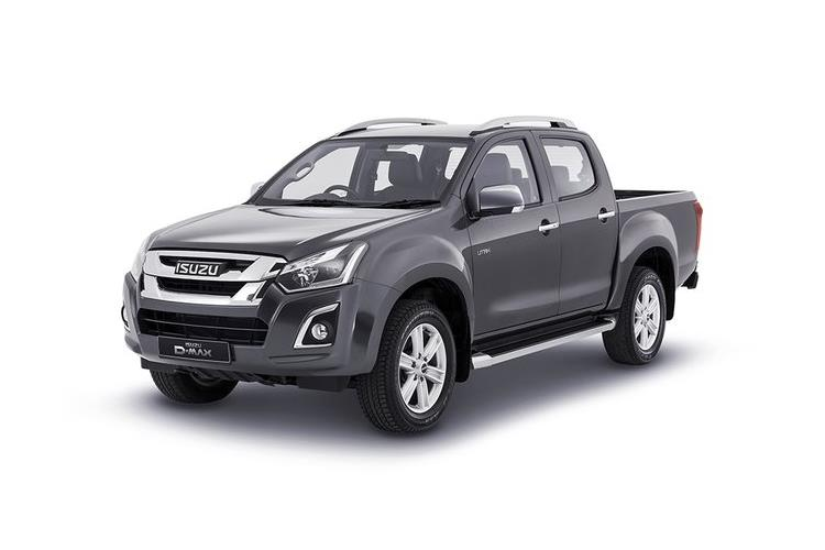 Isuzu D-MAX Pick Up Extended 4wd 1.9 TD 4WD 164PS DL20 Pickup Double Cab 2Dr Manual [Start Stop] front view