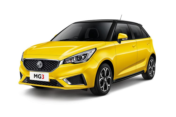 MG Motor UK MG3 Hatch 5Dr 1.5 VTi-TECH 106PS Exclusive 5Dr Manual [Start Stop] front view