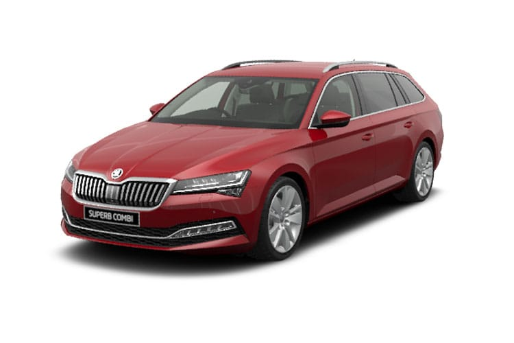 Skoda Superb Estate 1.4 TSI iV PiH 13kWh 218PS Laurin & Klement 5Dr DSG [Start Stop] front view