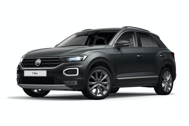Volkswagen T-Roc SUV 2wd 1.0 TSI 110PS SE 5Dr Manual [Start Stop] front view