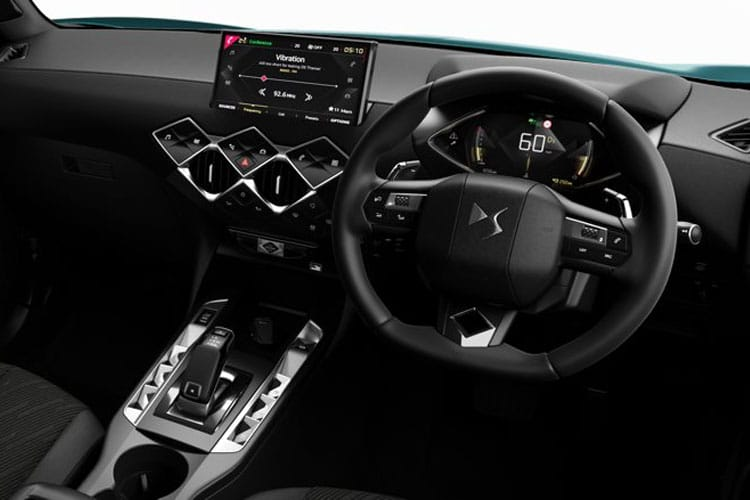 DS Automobiles DS 3 Crossback 5Dr 1.2 PureTech 100PS Performance Line 5Dr Manual [Start Stop] inside view