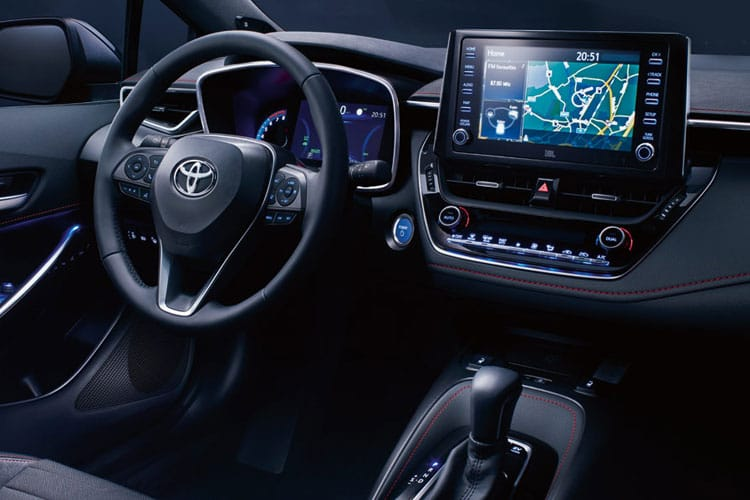 Toyota Corolla Touring Sports 2.0 VVT-h 184PS Icon 5Dr CVT [Start Stop] inside view