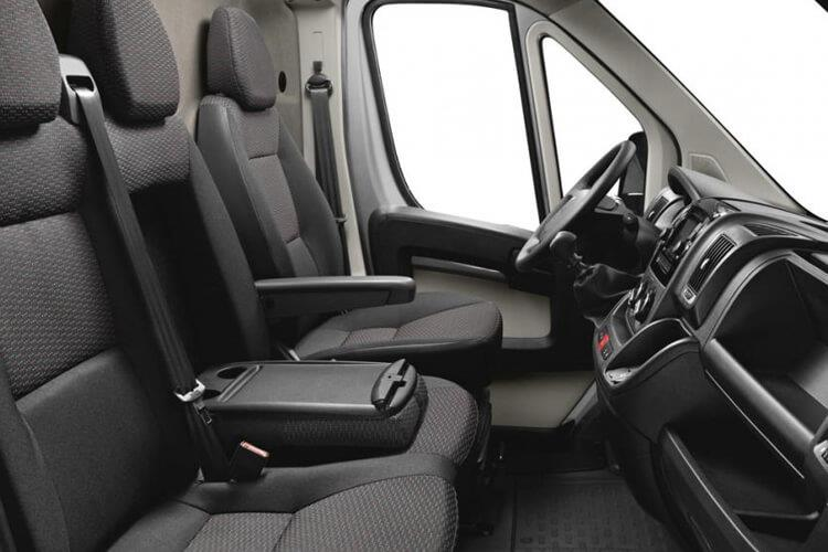 Peugeot Boxer 335 L3 2.2 BlueHDi FWD 165PS Built for Business Plus Dropside Manual [Start Stop] inside view
