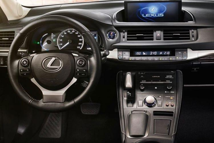 Lexus CT 200h Hatch 5Dr 1.8 h 136PS CT 5Dr E-CVT [Start Stop] [Premium] inside view