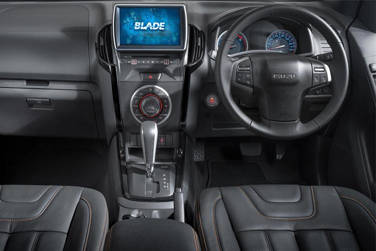 Isuzu D-MAX Pick Up Extended 4wd 1.9 TD 4WD 164PS DL20 Pickup Double Cab 2Dr Manual [Start Stop] inside view