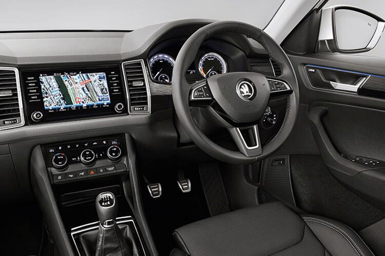 Skoda Kodiaq SUV 4wd 2.0 TDi 190PS Laurin & Klement 5Dr DSG [Start Stop] [7Seat] inside view