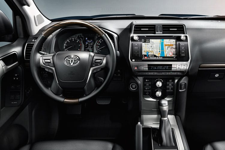 Toyota LandCruiser SUV 4wd 2.8 D 204PS Active 5Dr Auto [Start Stop] [5Seat] inside view