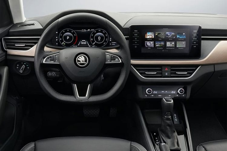 Skoda Scala Hatch 5Dr 1.5 TSi 150PS SE Technology 5Dr DSG [Start Stop] inside view