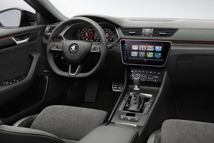 Skoda Superb Estate 1.4 TSI iV PiH 13kWh 218PS Laurin & Klement 5Dr DSG [Start Stop] inside view