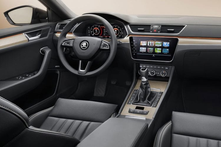 Skoda Superb Hatch 5Dr 2.0 TDi 150PS S 5Dr Manual [Start Stop] inside view