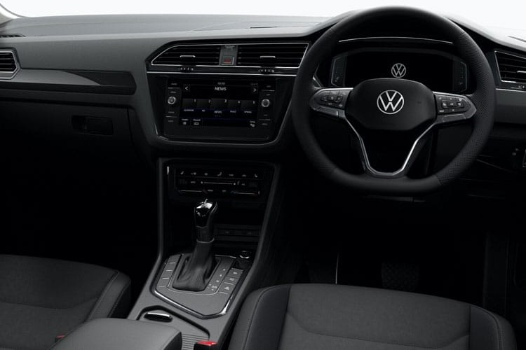 Volkswagen Tiguan SUV 4Motion SWB 2.0 TDI 150PS R-Line 5Dr DSG [Start Stop] inside view