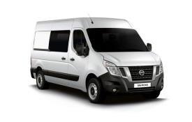 Nissan NV400 Crew Van L3 35 FWD 2.3 dCi FWD 150PS Tekna Crew Van Medium Roof Manual [Start Stop]