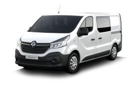 Renault Trafic Crew Van 30 SWB 2.0 dCi ENERGY FWD 145PS Black Edition Crew Van Manual [Start Stop]